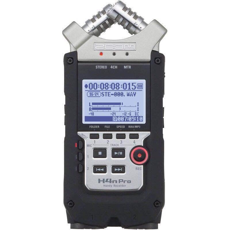 【數位達人】ZOOM H4N pro 專業型錄音筆 PCM數位錄音機 ZOOM H4Npro