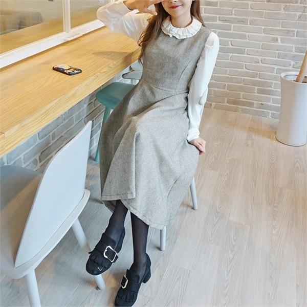ヘイウルワンピースnew ノースリーブ/トップワンピース/ワンピース/韓国ファッション