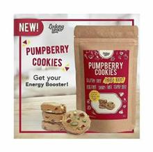 Guilty Free Healthy Diet Snack Pumpberry Cookies