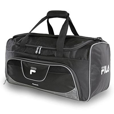 a5cbdf380f52 Qoo10 -  FILA  Speedlight Medium Duffel Gym Sports Bag Gym Bag ...