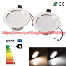 3W LEDs Recessed Ceiling Light Downlight Spot Lamp Warm /Pure White