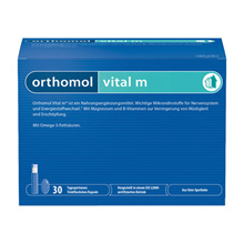 Orthomole Vital M (Vital M) Men's Drink + Capsule for 30 days