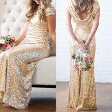 Plus Size M-2XL ~ Luxury Bling Bling Bird-mate/Wedding/Dinner Dress