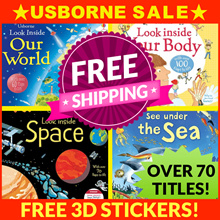 ★TIME SALE★USBORNE Lift the Flap • Peep Inside • Look Inside • See Inside • Flip Books