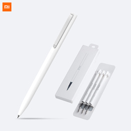 [buy 3 free shipping ]Xiaomi Pen with 0.5mm Swiss Refill  Rolling Roller Ball Sign Pen