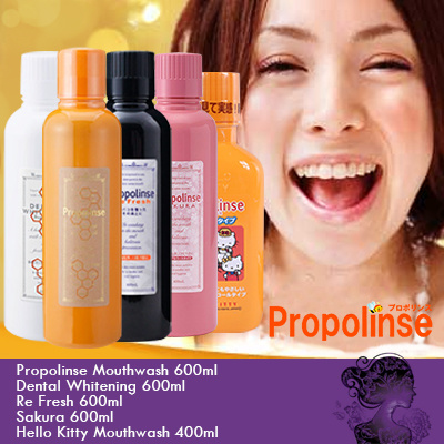 b3c55f3bb PROPOLINSE ♢ Mouthwash 600ml • Dental Whitening 600ml • ReFresh 600ml •  Sakura 600ml •