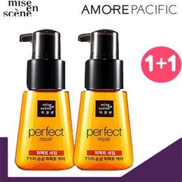 Miseenscene Perfect Serum 70 ml x 2 Bottles/ Argan oil/Royal Jelly/Hair care/ Rose water/Hair Oil