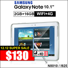 Samsung Galaxy Note 10.1 // With S-Pen / Wi-Fi+4G / 2GB RAM / 16GB ROM / N8010 / I925 / Refurbished