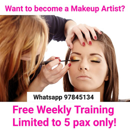 Makeup Workshop by Cosmoprof Trained Professional | Take home $37 worth of Branded USA Makeup Products (FOR LADIES ONLY)