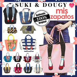 【SG DISTRIBUTOR MORE DESIGNS】100% AUTHENTIC JAPAN MIS ZAPATOS 💕 BACKPACK TOTE SHOULDER BAG 💕