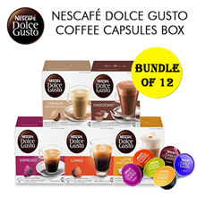 [[Bundle of 12]] NESCAFE DOLCE GUSTO NDG Coffee Capsules Box 15types -16s/8s!Nestle Authorized Selle