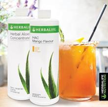 Herbalife Aloe Concentrate Original _ Mango Flavor _Mandarin Orange 470ML _ 100% Original Product