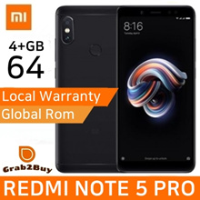 Xiaomi Redmi Note 5 Pro 4GB/64GB Snapdragon 636 Octa Core With Global Rom and Google Playstore