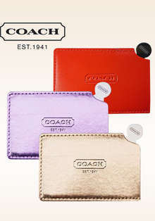 Coach Mirror + Coach Leather Case + Coach Cardboard Case- 3 Colors CLEARANCE BELOW COST
