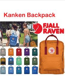 ★Authentic★Fjallraven Kanken | Unisex Backpack | Vinylon Hardwearing Fabric | Opening Sales | Bag