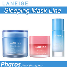 [Pharos]★LANEIGE★ Water Sleeping Mask 70ml / Lip Sleeping Mask 20g / Eye Sleeping Mask 25ml