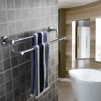Qoo10 Hotel Bathroom Towel Bar Double