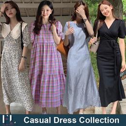 19th Apr Update / Korean Style / Linen / Casual / LOOSE Fit / Dress / Plus Size / Encounter Dress