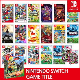 [Ready Stock!!] ★1+1 Nintendo Switch Game Title  BEST GAMES Collection★