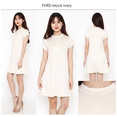 FVRD Mockneck Ivory