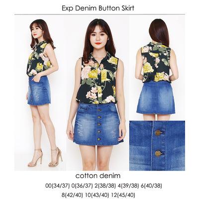 EXP Button Skirt