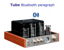 SG Nobsound MS-10D MKII Hifi 2.0 Vaccum Tube Amplifier USB/Bluetooth Home Audio Amplifier 25W*2 220v