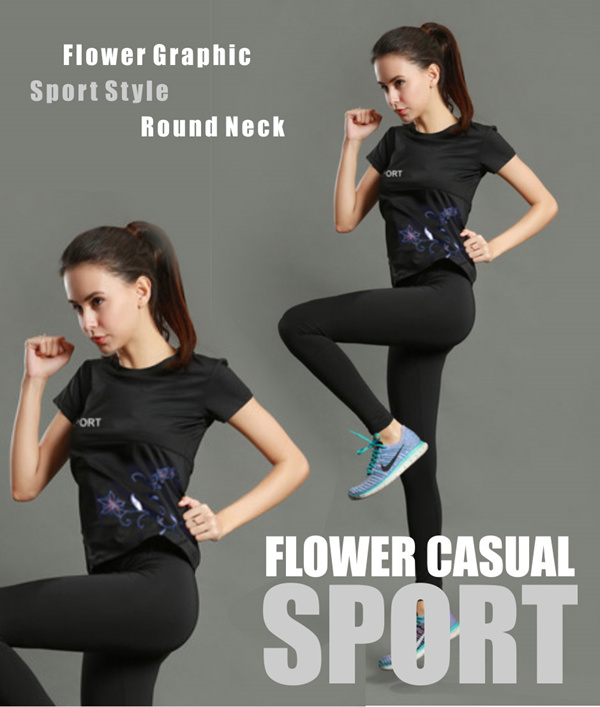 Ladies Sports Round Neck T-Shirts Deals for only Rp99.000 instead of Rp99.000