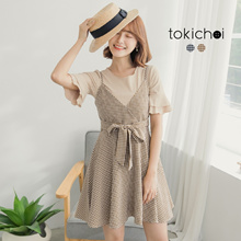 TOKICHOI - Gingham Cami Dress with Top-180891