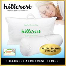 HillCrest Aerofresh Pillow or Bolster  [ Bedsheet protector quilt towel Bolster]