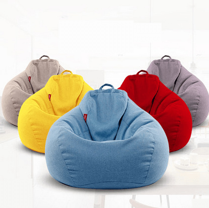 Lazy sofa bean bag bedroom living room lounge chair single adult sofa chair  washable tatami