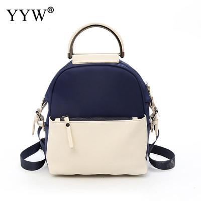 Women Backpack Small Size Pu Leather Women S Backpacks Fashion School Girls  Bag Hit Color Female 773055fdada29