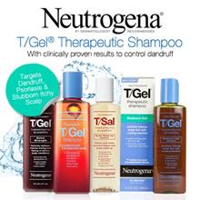 Neutrogena Anti-Residue T/Gel Shampoo - Original Formula/ Stubborn Itch/ 2 in 1 Shampoo Conditioner