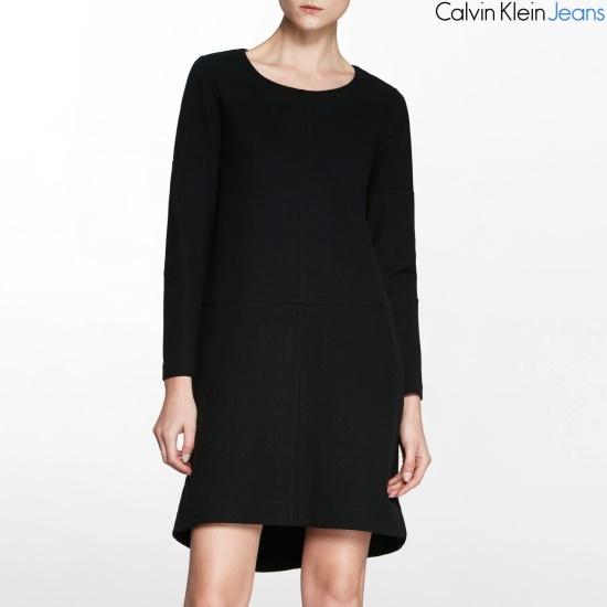 カルバン・クラインのジーンズ女性ワンピース4BFDNJ2 面ワンピース/ 韓国ファッション