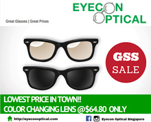 ★LOWEST PRICE!!★Spectacle Color Changing Photochromic Lens ONLY $64.80★TRANSITION Option available★