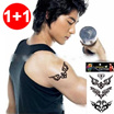 [HOT ITEM][1+1]Tattoo Stickers / BRANDED Temporary Tattoo Sticker *Japan Temporary Tattoo Stickers/ Cute stickers/ Body Tattoo/ Unique Designs/ Korean Japanese/ Stickers ★ UNISEX
