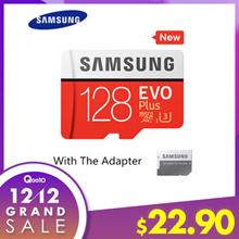 【SG LOWEST PRICE】SAMSUNG  Micro SD Card EVO PLUS 128GB ★ U3 Class10 / Micro SDXC Memory Card