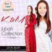 [RAYA EXCLUSIVE PROMOTION] KM Jubah Collection ~5 Design~ [NO OPTION PRICE] ~BUY 2 FREE SHIPPING~