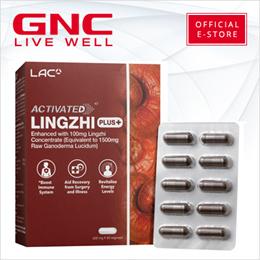 LAC Activated™ Lingzhi® Plus (600mg X 60 Vegicaps) [immune system/defence/supplement/lac/gnc]