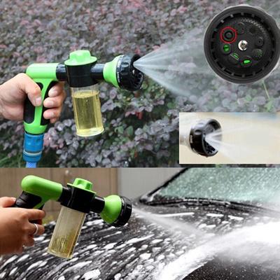 Qoo10 1pc Car Washing Tool 8 In 1 Jet Spray Gun Soap Dispenser