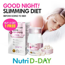 Aile ♥ [Nutri D-day] Before Sleeping Diet ♣ No.1 Diet ♣ Multi Vitamin + Garcinia Cambogia ♣30 days