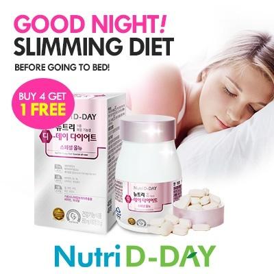 Aile ? [Nutri D-day] Before Sleeping Diet ? No.1 Diet ? Multi Vitamin + Garcinia Cambogia ?30 days