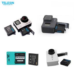 Telesin Battery for Gopro Hero 4/5/6 Xiaomi Yi XiaoYi 4k