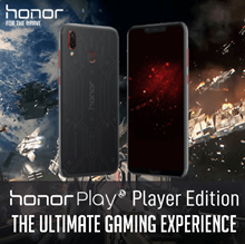 PRE- ORDER HONOR PLAY (4GB+64GB) PLAYER EDITION + HONOR GIFT PACK/ 1 YEAR LOCAL MANUFACTURER WARRANy