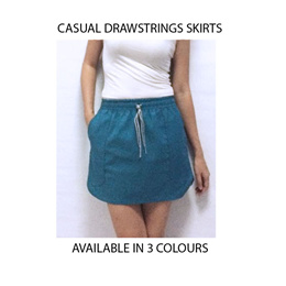 casual skirts size S M L XL