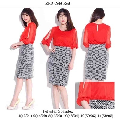 EFD Cold Red