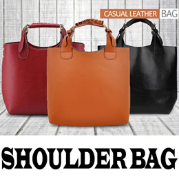 [READY STOCK] [Most Popular] Casual Shoulder Leather Bag Avalaible 3 Colors