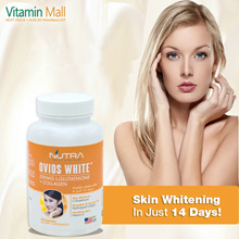 🔥Skin Whitening🔥OVIOS WHITE🔥500mg L-Glutathione + Collagen🔥Whiter Fairer Skin In Just 14 Days