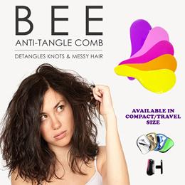 Magic comb Hair Comb / TANGLE-FREE COMB /Bee tangler free Comb / Anti tangle comb / [SCMK]