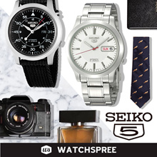[SEIKO] Seiko 5 Automatic Watch Collection SNKK SNKL SNKM SNKD SNKN. Free Shipping and Seiko Box!
