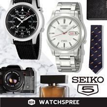 [SEIKO] Seiko 5 Automatic Watch Collection SNKK SNKL SNKM SNKD SNKN. Free Shipping and Seiko Box!